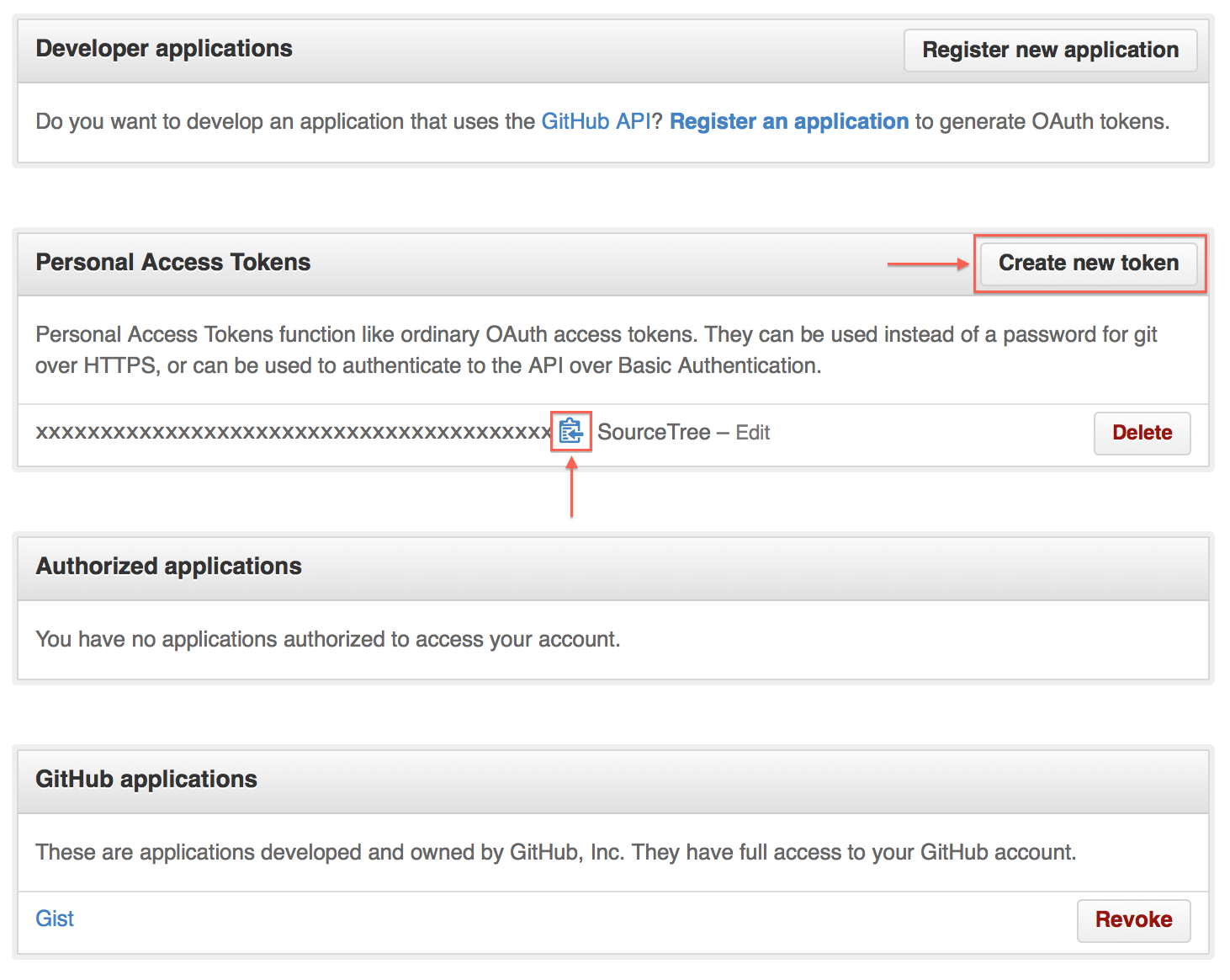 SourceTree / GitHub: Must specify two-factor authentication OTP code
