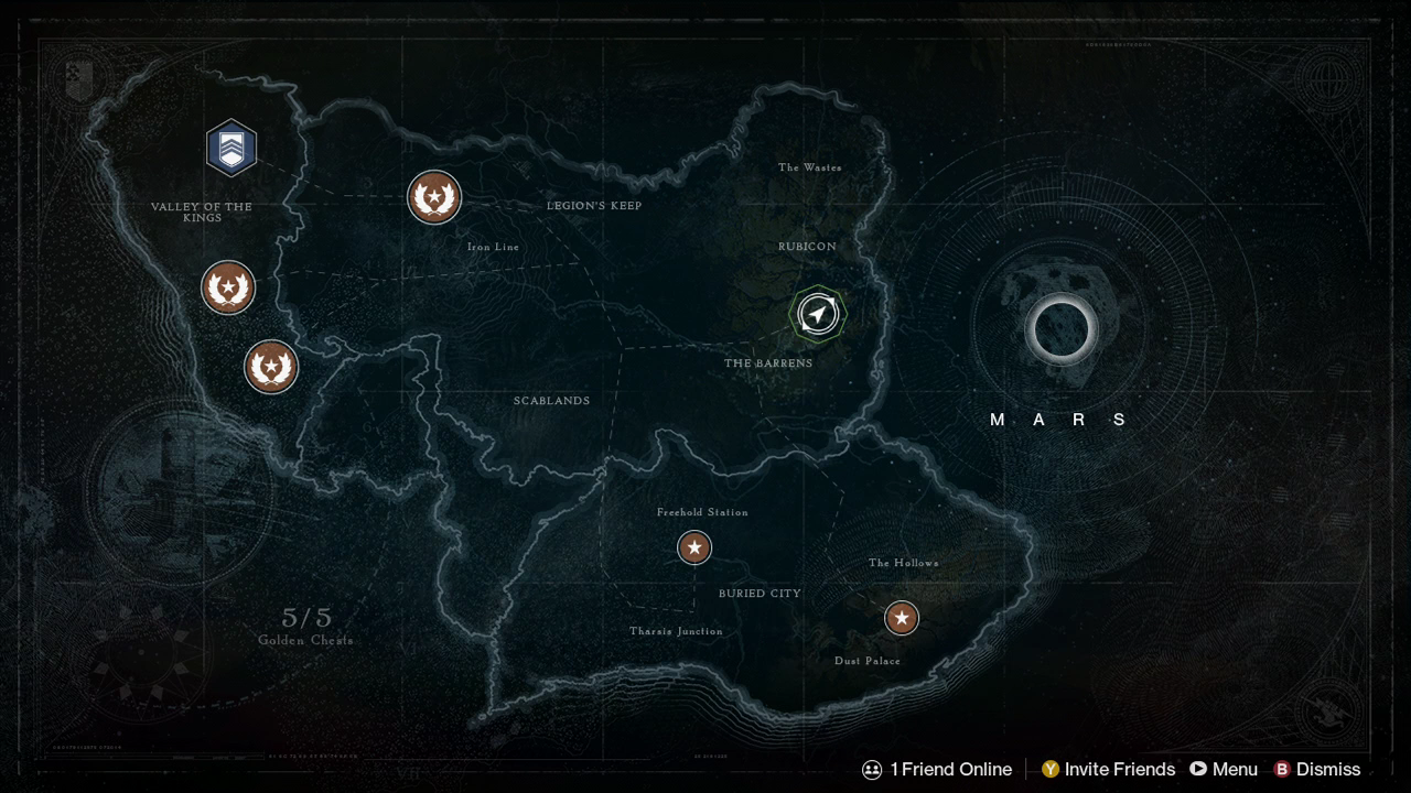 Destiny Maps: Earth, Moon, Venus and Mars   Ryan Sechrest